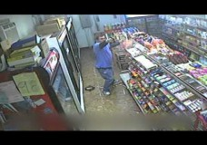 Store Owner Shoots Back At Robbers