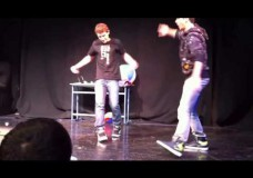 Israeli Breakdancer Fails