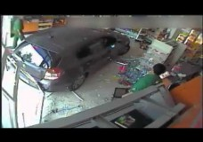 VW Smashes Into Store